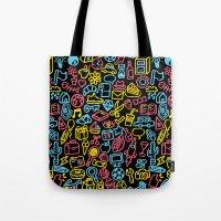 Galore (black Version) Tote Bag