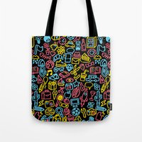 Galore (black Version) Tote Bag