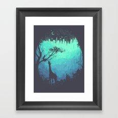 After Cosmic Storm Framed Art Print