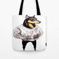 Bad Dog Tote Bag
