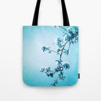 BLUE SPRING Tote Bag