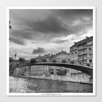 Le Pont Canvas Print