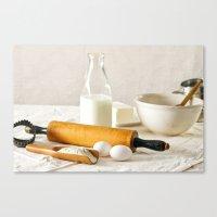 Vintage Cooking Canvas Print