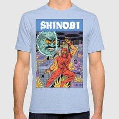 Shinobi Mens Fitted Tee Tri-Blue SMALL