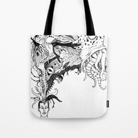 Mr Lovercraft's monsters Tote Bag