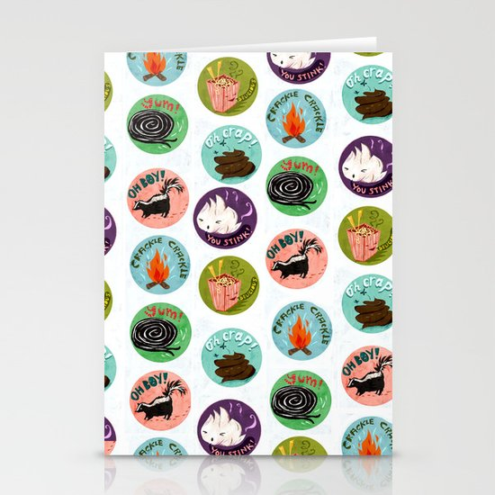 Scratch and Sniff Stationery Card