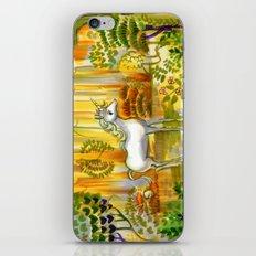 Saint Francis's Unicorn iPhone & iPod Skin