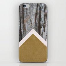 Wooded Chevron iPhone & iPod Skin