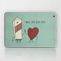 only love beats milk Laptop & iPad Skin