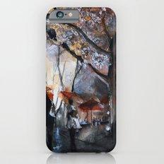 Autumn rain - watercolor iPhone 6 Slim Case