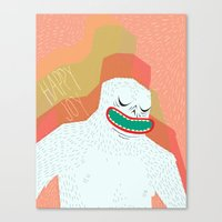 Your not yeti to believe right now Canvas Print