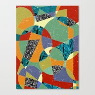 Abstract #100 Canvas Print