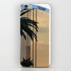 Trump In Las Vegas iPhone & iPod Skin