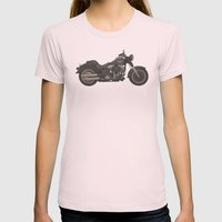 Fat Boy Toy Womens Fitted Tee Light Pink SMALL