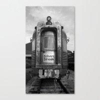 Silver Streak Canvas Print