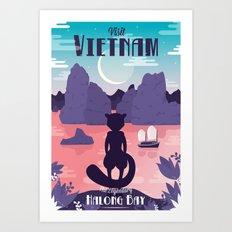 Visit Vietnam Art Print