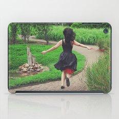 running free iPad Case