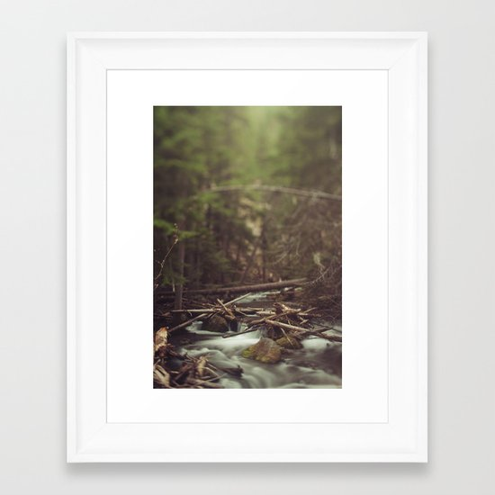 Cold Spring Creek Framed Art Print