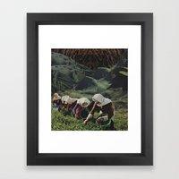 Pickers Framed Art Print