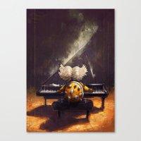 Ballad of Ludwig von Koopa - Super Mario World Series / Gaming & Video Games Canvas Print