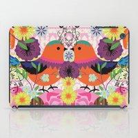 bird love iPad Case