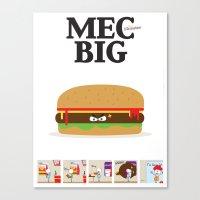 MecBig Canvas Print
