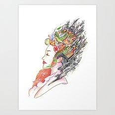 Art of Letting Go (I) Art Print
