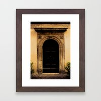 The Door #3 Framed Art Print