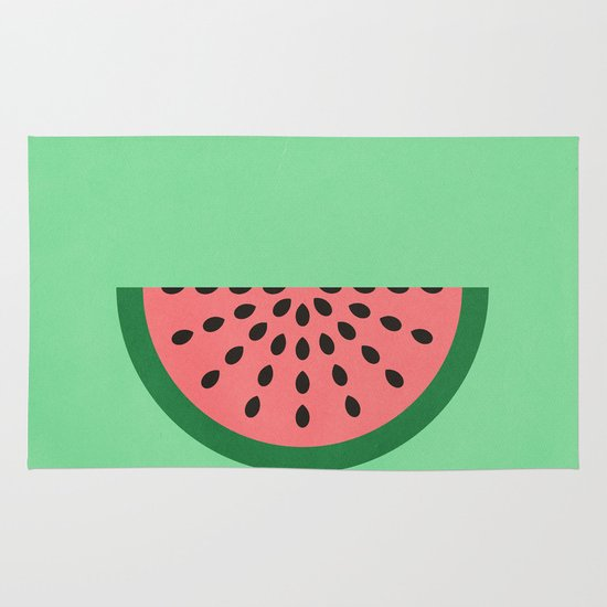 Watermelon Area & Throw Rug