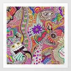 It's What's On The Inside That Counts. Art Print