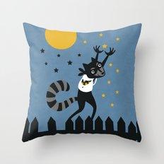 Star Thief Throw Pillow