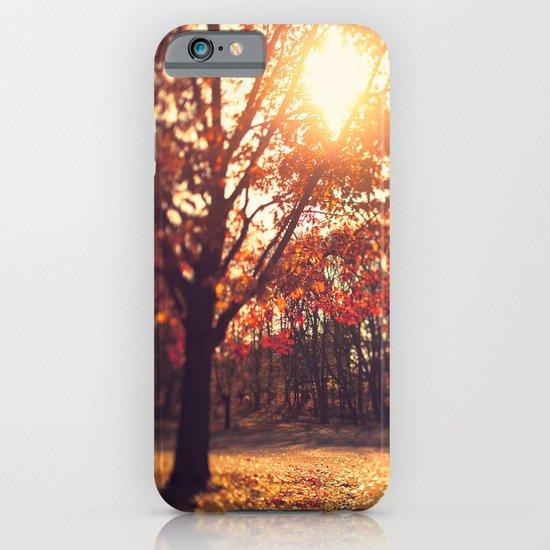 Autumn Sun  iPhone & iPod Case