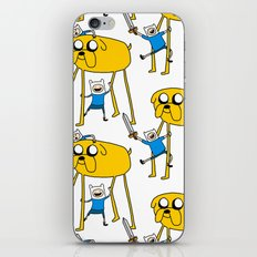 Adventure Time - Jake & Finn iPhone & iPod Skin