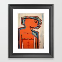 Feeling the Heat Framed Art Print