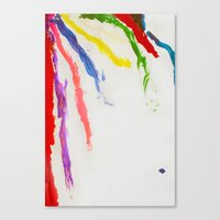 Rainbow Of Color Canvas Print