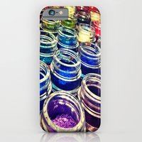 iPhone & iPod Case featuring Eyeshadow by Sara Miller
