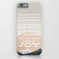 Psalm 65:8 iPhone 6 Slim Case