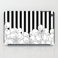 Cherry Blossom Stripes - In Memory of Mackenzie iPad Case