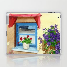 provencal_blue_window Laptop & iPad Skin