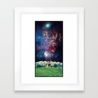 Croome Panoramic Tower Framed Art Print