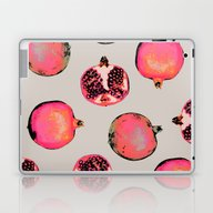 Pomegranate Pattern Laptop & iPad Skin
