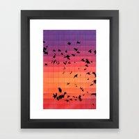Dyspyryt Dysk Framed Art Print