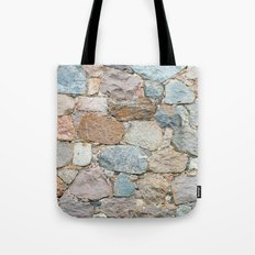 Old Wall From Field Ston… Tote Bag