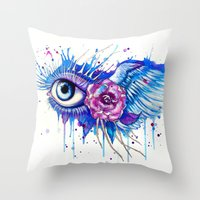 -I can see heaven- Throw Pillow