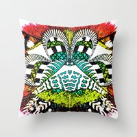Ubiquitous Bird Collection3 Throw Pillow
