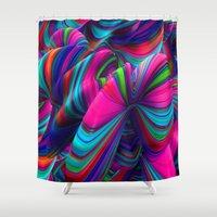 Abstract Pop Shower Curtain