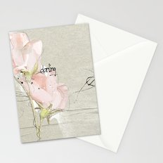 soft magnolia Stationery Cards