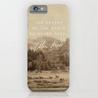 Keats: Poetry iPhone 6 Slim Case