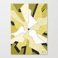 Mono Pattern | The Fragm… Canvas Print