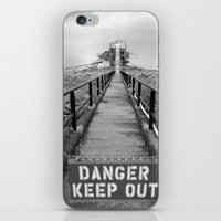 danger danger iPhone & iPod Skin